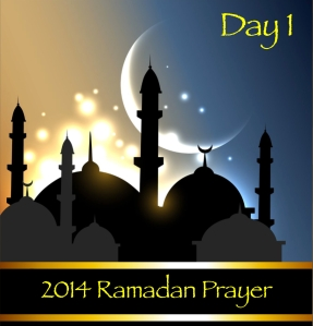 2014 Ramadan Prayer Day 1