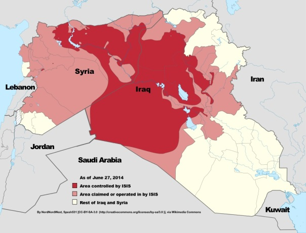 ISIS Control June 2014