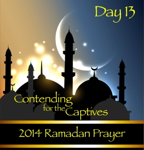2014 Ramadan Prayer Day 13