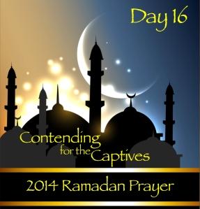 2014 Ramadan Prayer Day 16