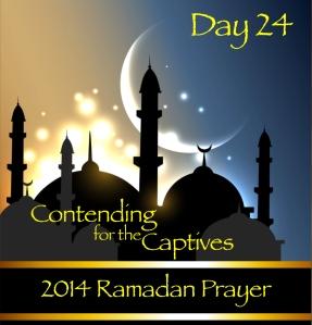 2014 Ramadan Prayer Day 24