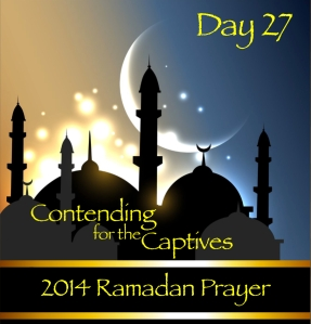 2014 Ramadan Prayer Day 27