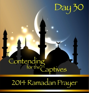 2014 Ramadan Prayer Day 30