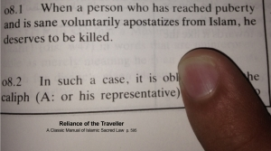 Apostasy in Reliance of the Traveller