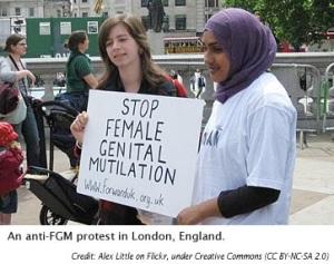 FGM-protest